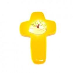 Croix Espoir jaune