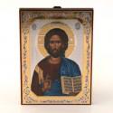 Icone religieuse Christ Pentocrator