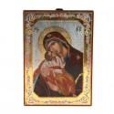 Icone religieuse Vierge à l'enfant