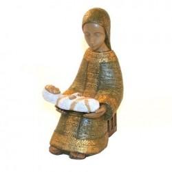 Vierge Paysanne verte - Soeurs de Bethleem