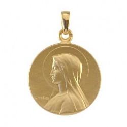 Médaille de Baptême Sainte Marie - Or