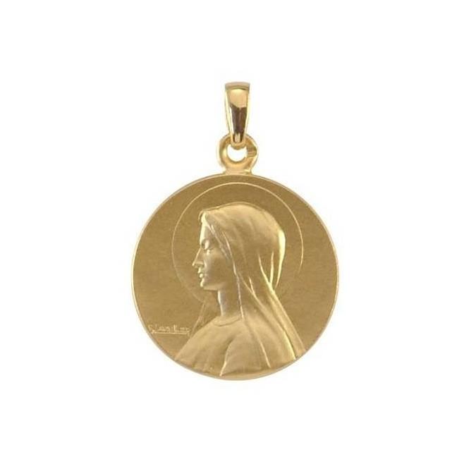 Hervorragend Médaille de Baptême Sainte Marie - Or | Comptoir Religieux PW55