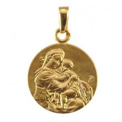 Médaille Vierge du réconfort - Or