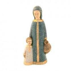 Petite Vierge de Nazareth bleue