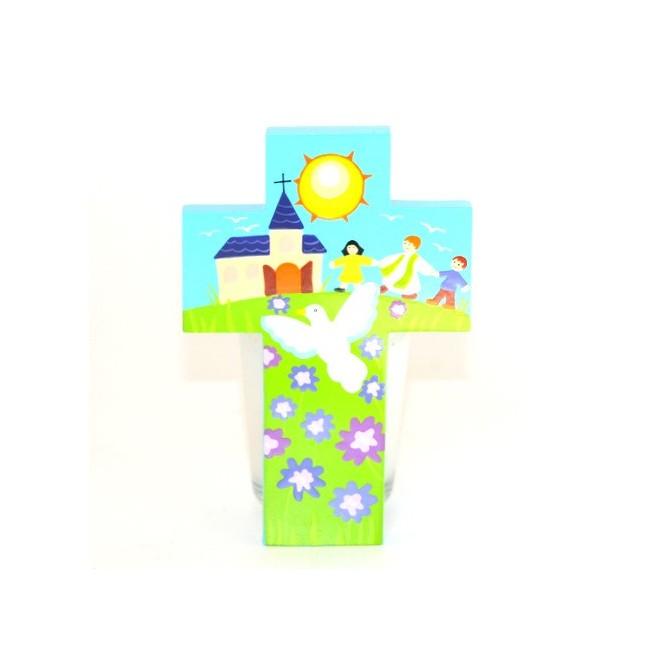 Croix Pretre colombe