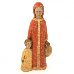 Petite Vierge de Nazareth ocre - Soeurs de Bethleem