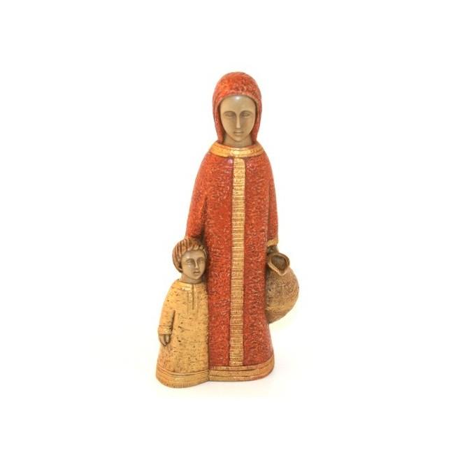 Petite Vierge de Nazareth ocre