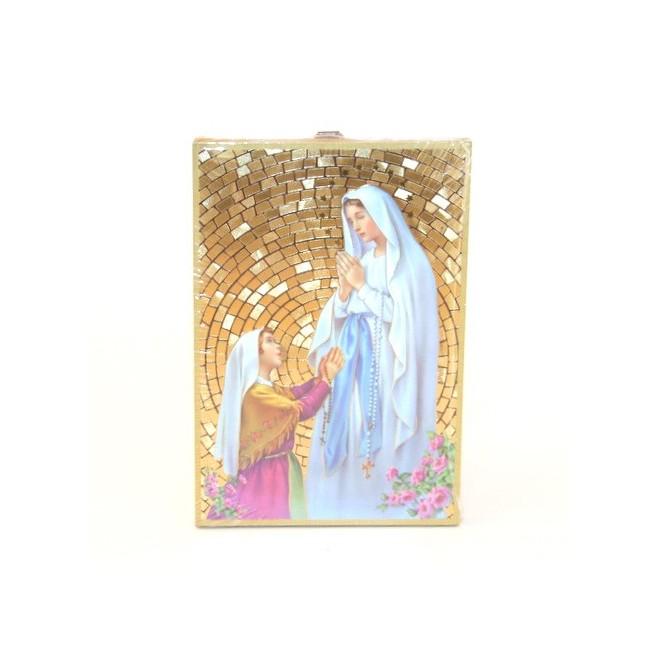 Cadre Vierge Notre Dame de Lourdes