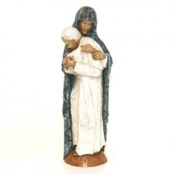 Vierge Marie et Jean Paul II