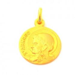 Médaille Saint Arnaud - plaqué or