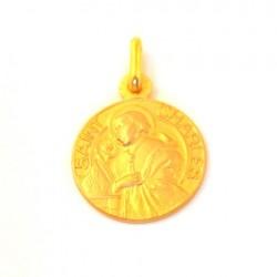 Médaille Saint Charles - plaqué or
