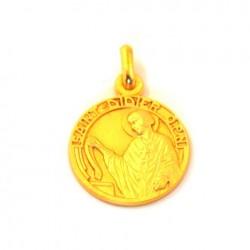 Médaille Saint Didier - plaqué or