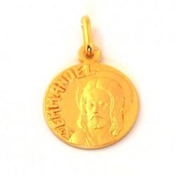 Médaille Saint Emmanuel - plaqué or