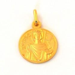 Médaille Saint Eric - plaqué or