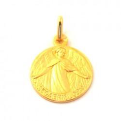 Médaille Saint Gabriel - plaqué or