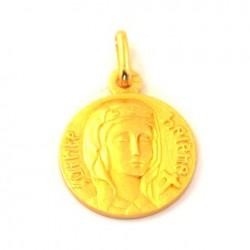 Médaille Sainte Hélène - plaqué or