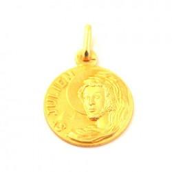 Médaille Saint Julien- plaqué or