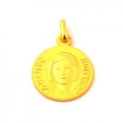 Médaille Sainte Martine - plaqué or