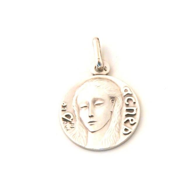 Médaille Sainte Agnès - argent