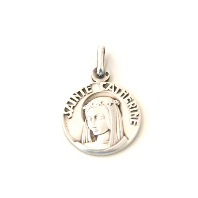Médaille Sainte Catherine - argent