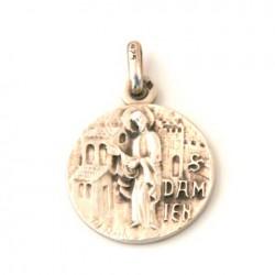 Médaille Saint Damien - argent
