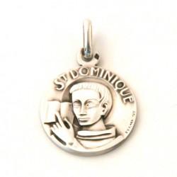 Médaille Saint Dominique - argent