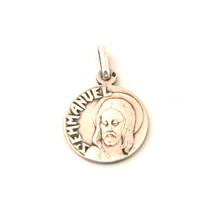 Médaille Saint Emmanuel - argent