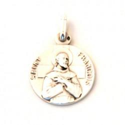 Médaille Saint François - argent