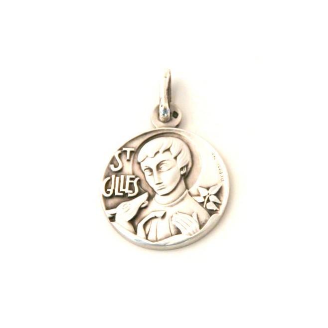 Médaille Saint Gilles - argent