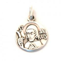 Médaille Saint Jacques - argent