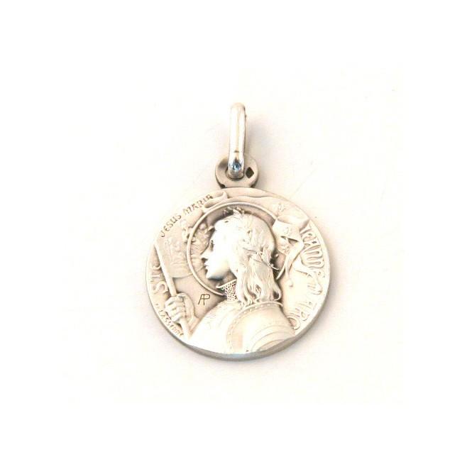 Médaille Sainte Jeanne d'Arc - argent