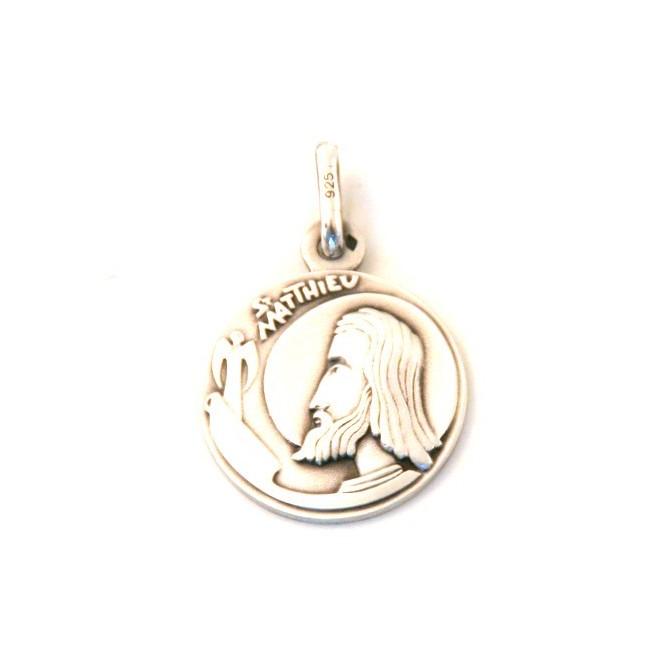 Médaille Saint Matthieu - argent