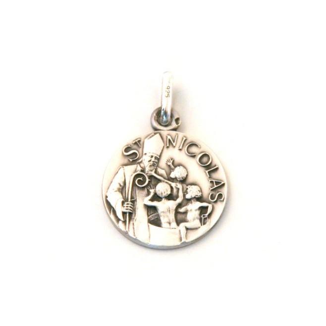 Médaille Saint Nicolas - argent