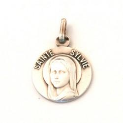 Médaille Sainte Sylvie - argent