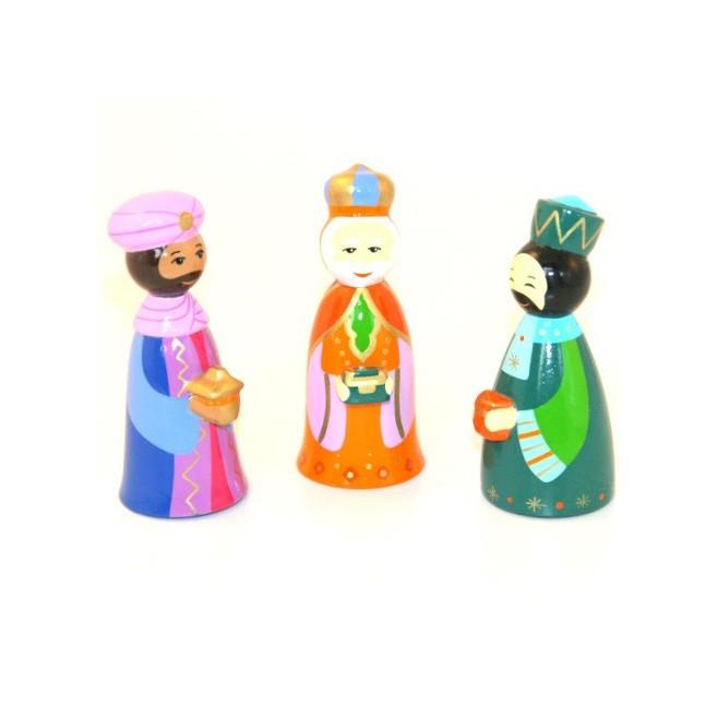 Crèche de Noël - 3 rois mages