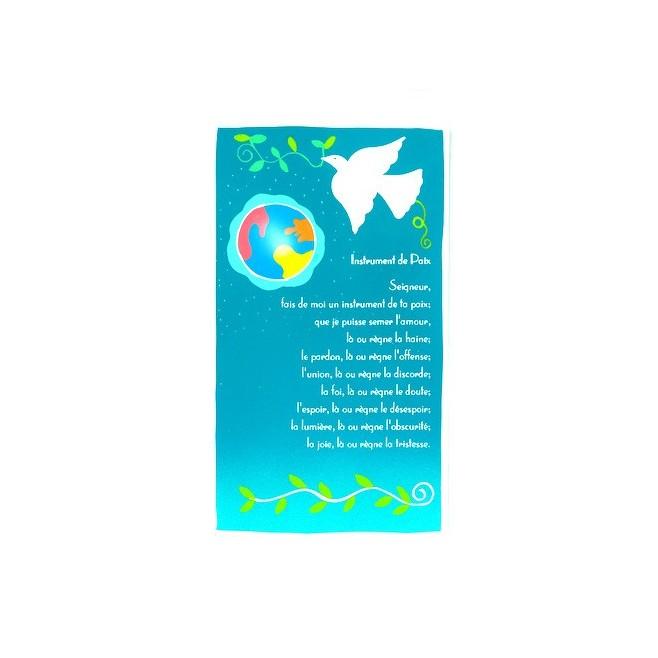 Plaquette Prière enfant - Instrument de Paix