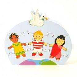 Puzzle - Enfants du monde