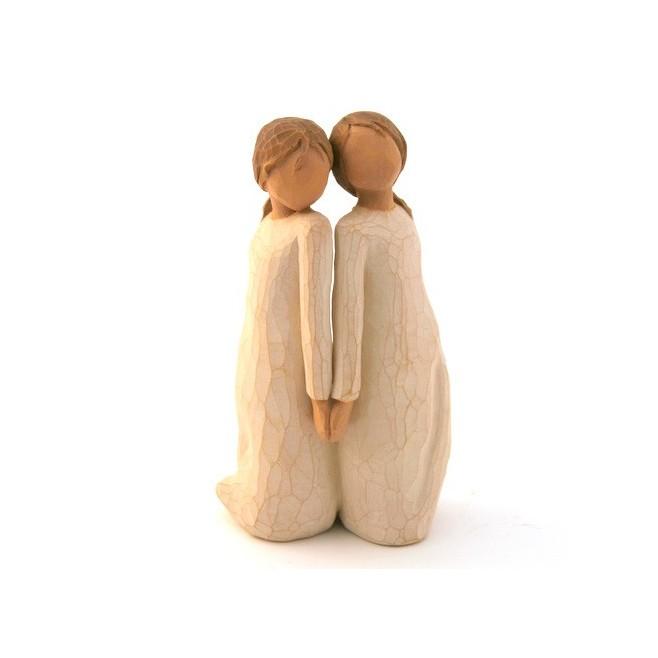Statue figurine Willow Tree - Two alike