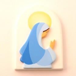Cadre religieux en bois - Vierge