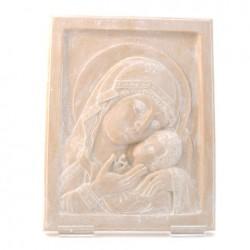 Vierge de Kazan Marbre - cadeau pour prêtre