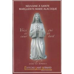 Livret de neuvaine à Sainte Marguerite Marie Alacoque