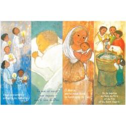 12 Signets de baptême - Maité Roche