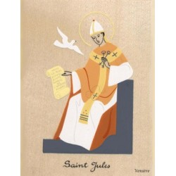Cadeau de baptême : Cadre Saint Jules - Venière