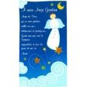 Cadre Prière Ange gardien - garçon