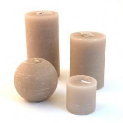 "Kit de bougies de Noël Broste ""Ecru"""