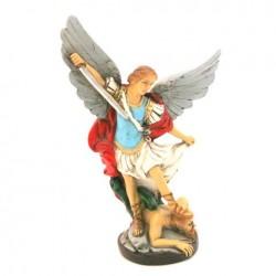Statue religieuse Saint Michel 16cm