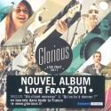 CD : Glorious - Live Frat 2011