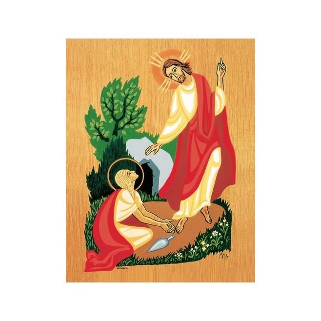 Cadre Christ ressuscité - Abbaye de Venière