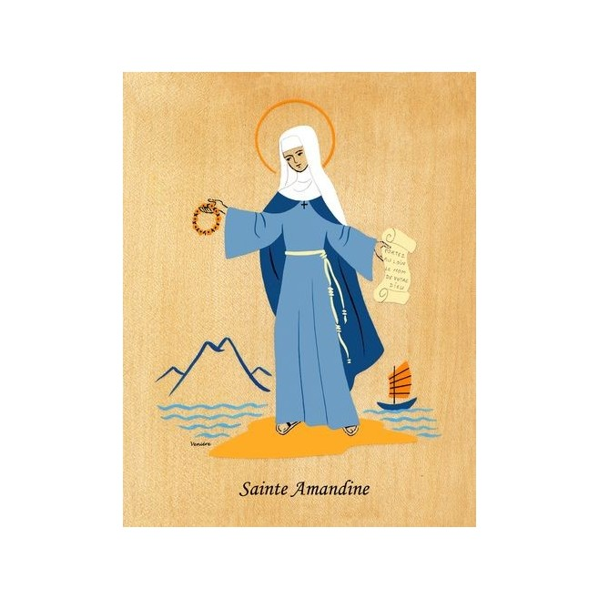 Cadre Sainte Amandine - Abbaye Venière