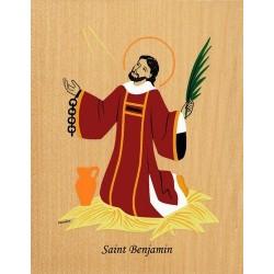 Cadre Saint Benjamin - Venière
